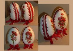 Egg Shell Art, Egg Designs, Egg Art, Egg Decorating, Egg Shells, Easter Eggs, Decoupage, Diy And Crafts, Projects To Try