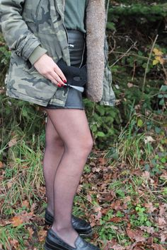 Tenue camouflage #militaire #ootd #osé #girl #blog #fashion