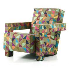 Utrecht armchair textile by Bertjan Pot for Cassina » Retail Design Blog