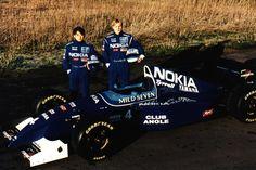 1995 Tyrrell 023 - Yamaha (Ukyo Katayama & Mika Salo)