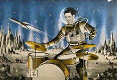 Trip To Mars, 1958.