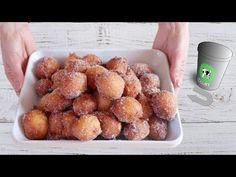 Csak 10 perc! A tészta hozzáérése nélkül! Egyszerű és olcsó! # 523 - YouTube Party Desserts, No Bake Desserts, Dessert Recipes, Baking Recipes, Cookie Recipes, Donut Maker, Food Wishes, Apple Bread, Cookie Crumbs