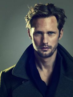 Alexander Skarsgard is so fine. Could he be your fantasy Aaron Psalter?