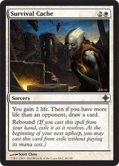 4 Rebound ~ Blue Stronghold Mtg Magic Uncommon 4x x4