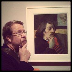 Gaugin imitated, at the Detroit Institute of Art - Nanette Clark