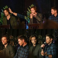 Jensen and Jared at #NJCON16