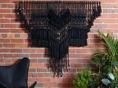 black eagle wall hanging / theknotstudio.com.au