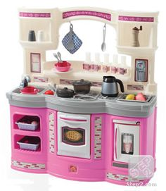 Step 2 Play Kitchen step2 four seasons pink and purple playhouse with 2 built-in seats