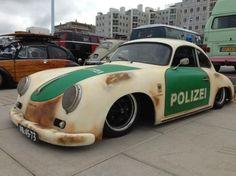 Polizei Rat Rod