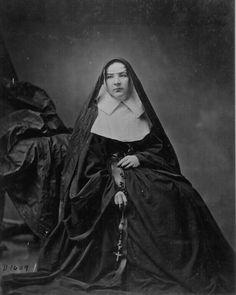 Sister M.M. Joseph, Sisters of Mercy    http://www.archives.gov/research/military/civil-war/photos/images/civil-war-195.jpg
