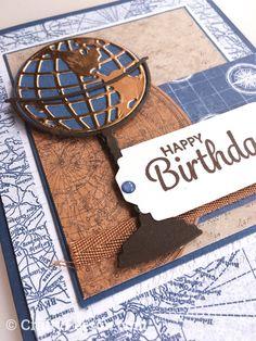 Cool Birthday Cards, Birthday Card Sayings, Masculine Birthday Cards, Handmade Birthday Cards, Masculine Cards, Male Birthday Cards, Birthday Wishes, Happy Birthday, Cards For Men Handmade