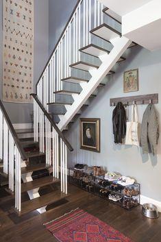 Stair Wall Decor High Ceilings Stairways