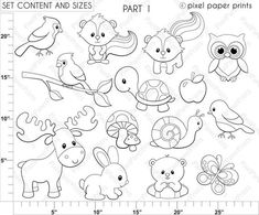 Sea Animal Rubber Clear Stamp Cling Seal Scrapbooking Diary Card DIY DecorCraftX