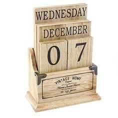 World Market Inspired Perpetual Calendar  Perpetual Calendar