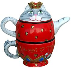 cat tea pots - Google Search