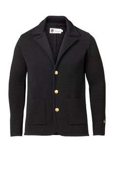 David Jacket in Marine How To Make, How To Wear, Menswear, David, Blazer, Fabric, Sleeves, Sweaters, Jackets