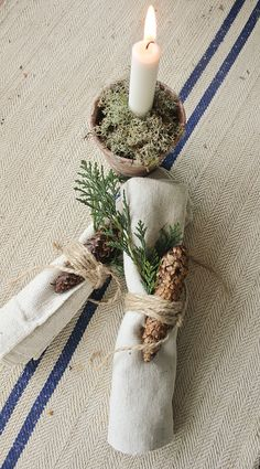 Cones with napkins. Repinned by www.mygrowingtraditions.com