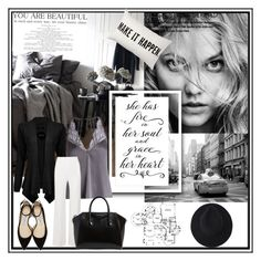 """""""Her soul full of grace"""" by krystalkm-7 ❤ liked on Polyvore featuring Fleur of England, Jimmy Choo, Roland Mouret and Givenchy"""