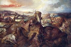 This iis Dix's painting, 'Flanders'