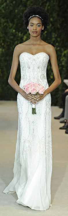 Carolina Herrera Bridal Dress Spring 2014 - Acelia...the detail on this is priceless