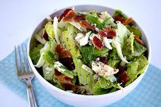 Bacon Chicken Salad w/Raspberry Poppy Seed Dressing