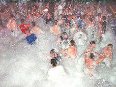 Spring Break Foam Party in San Felipe, Baja, Mexico Graduation Picture Boards, Graduation Pictures, Senior Trip, Senior Year, Foam Party, People Crowd, Pool Signs, Graduation Celebration, Partying Hard