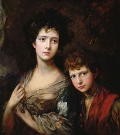Thomas Gainsborough     Elizabeth and Thomas Linley