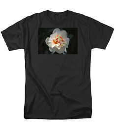 Blooming Double Daffodil  T-Shirt by Cynthia Guinn