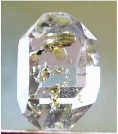 Golden Enhydro Herkimer Diamond Quartz