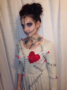 Voodoo doll costume                                                                                                                                                      More