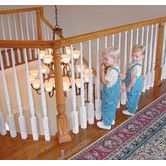 Found it at Wayfair - Kid Safe Banister Guard