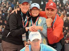 Dr. Beth Gordineer wears a Patek Philippe 5066 Aquanaut, Kim Herres wears a Rolex Ladies' Datejust, and Dr. Dale Gordineer, a Panerai PAM 289 while at this year's Open Championship at Royal Lytham and St. Annes Golf Club in St. Annes, England.