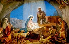 The story of Jesus's birth and early days is one that all Christians think they know – but few actually do. The Crèche displayed in churches and homes is actually a mash-up of two completely different nativity stories. Jesus's life Merry Christmas Jesus, True Meaning Of Christmas, Christmas Nativity Scene, A Christmas Story, Christmas Pictures, Vintage Christmas, Nativity Scenes, Christmas Scenes, Christmas Eve