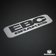 Pegatina EBC Brakes #ebc #brakes #pegatina #adhesivo #tuning #moto #TeleAdhesivo