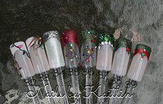 Art d'ongle artificiel Noël personnalisé par KaitlinsDesignerNail