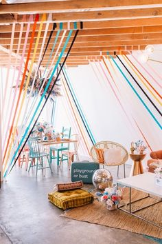 Cutest boho party set up! Festa Party, Throw A Party, Modern Kids, Animal Party, Event Decor, Event Ideas, Party Planning, Party Time, First Birthdays