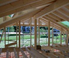 società di costruzioni in legno a casa