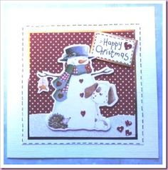 Tons of Crafts and Cards on her Blog