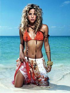 Shakira.... Most beautiful woman ever!!!! Natural