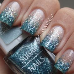 nails, You can collect images you discovered organize them, add your own ideas to your collections and share with other people. Sparkle Nail Designs, Sparkle Nails, Glitter Nails, Nail Art Designs, Sugar Nails, Dipped Nails, Prom Nails, Orange Is The New Black, Perfect Nails