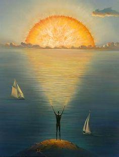 Sunrise, wonderous surprise