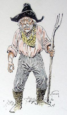Hermann - Ten Callons - Aquarel - W.B.