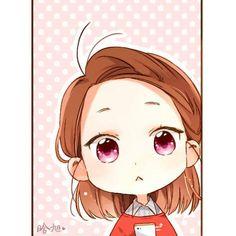 Anime Chibi, Kawaii Chibi, Cute Chibi, Kawaii Art, Style Anime, Cherry Blossom Art, Friend Anime, Cartoon Girl Drawing, Chibi Characters