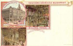 Budapest, Art Nouveau, Vintage World Maps, New York, New York City, Nyc
