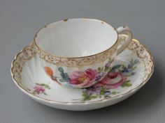 Traumhafte Mokkatasse Nymphenburg b in Antiquitäten & Kunst, Porzellan & Keramik, Porzellan   eBay