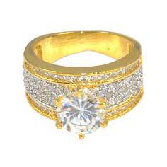 Buy Anjalika Golden Ring by Anjalika, on Paytm, Price: Rs.570?utm_medium=pintrest