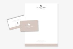 PINERIDGE EVENTS Branding by Studio 9 Co.