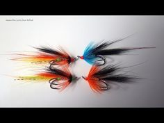 Haugur Salmon/Seatrout Fly - The Haugur Icelandic Salmon Fly - See video