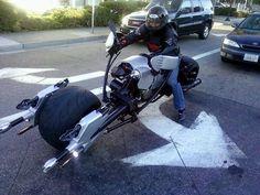 A real Star Wars inspired Speeder MotorBike