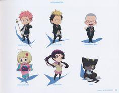 Tags: Scan, Ao no Exorcist, Kamiki Izumo, Official Art, Miwa Konekomaru, Suguro Ryuji, Kuro (Ao No Exorcist), Moriyama Shiemi